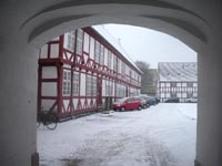 Aalborghus Slot porten