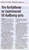 Nominerede til Aalborgs Historie Pris 2013