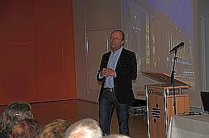 Daglig leder Finn Taul fortæller om Nordkraft