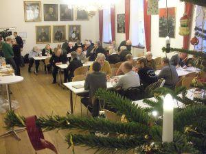 Omkring 50 gæster deltog i receptionen